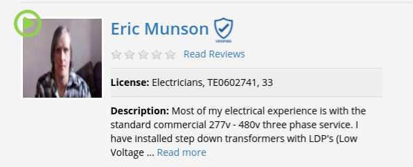 video chat electrician